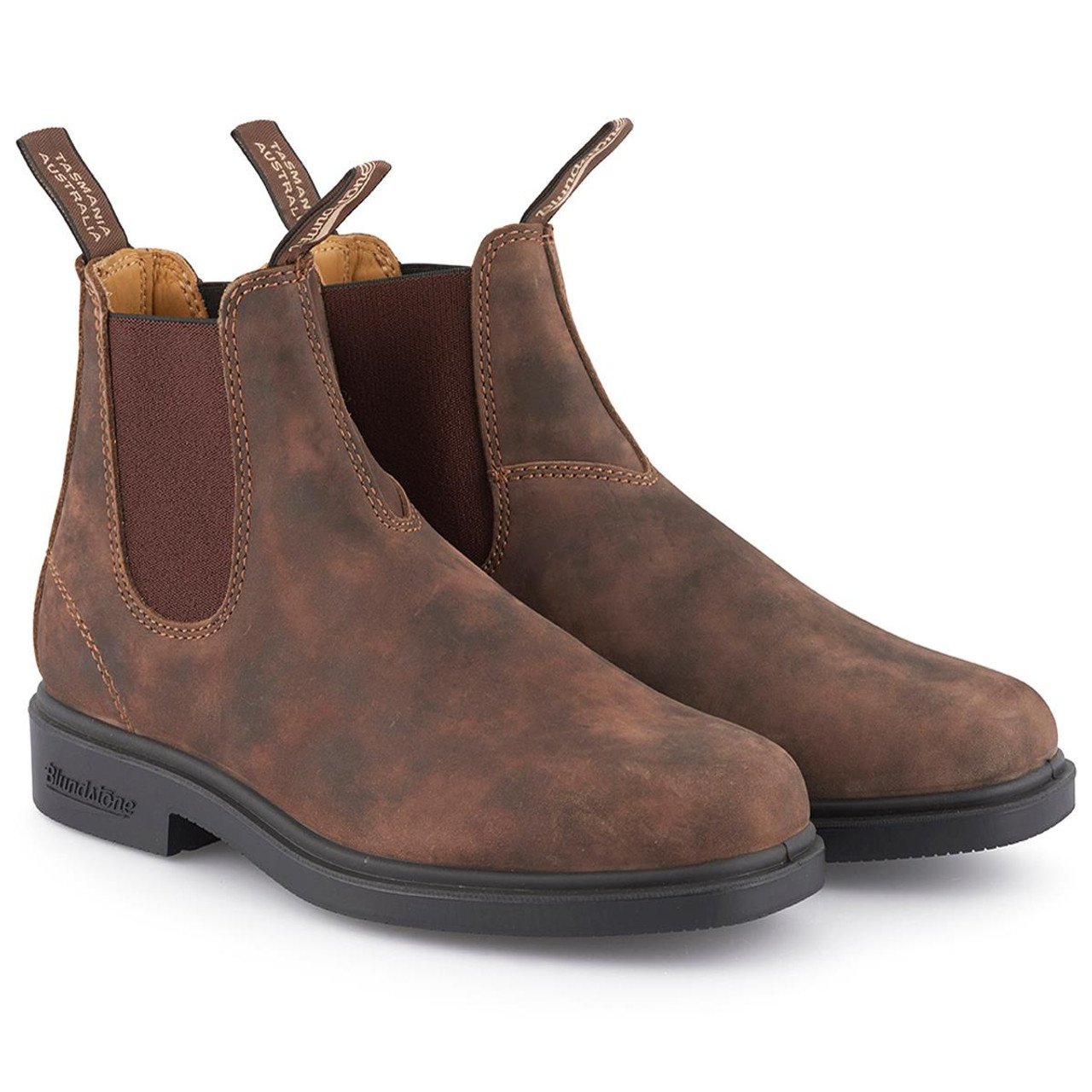 Rustic Brown Blundstone Dress Chisel 1306 Chelsea Boot