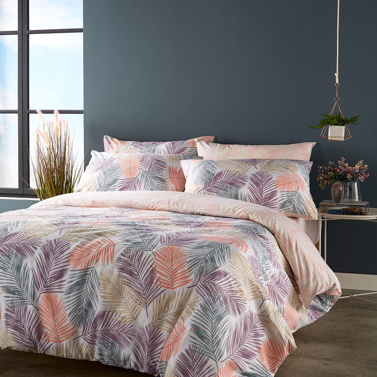Christy Kingsley Palm Duvet Set