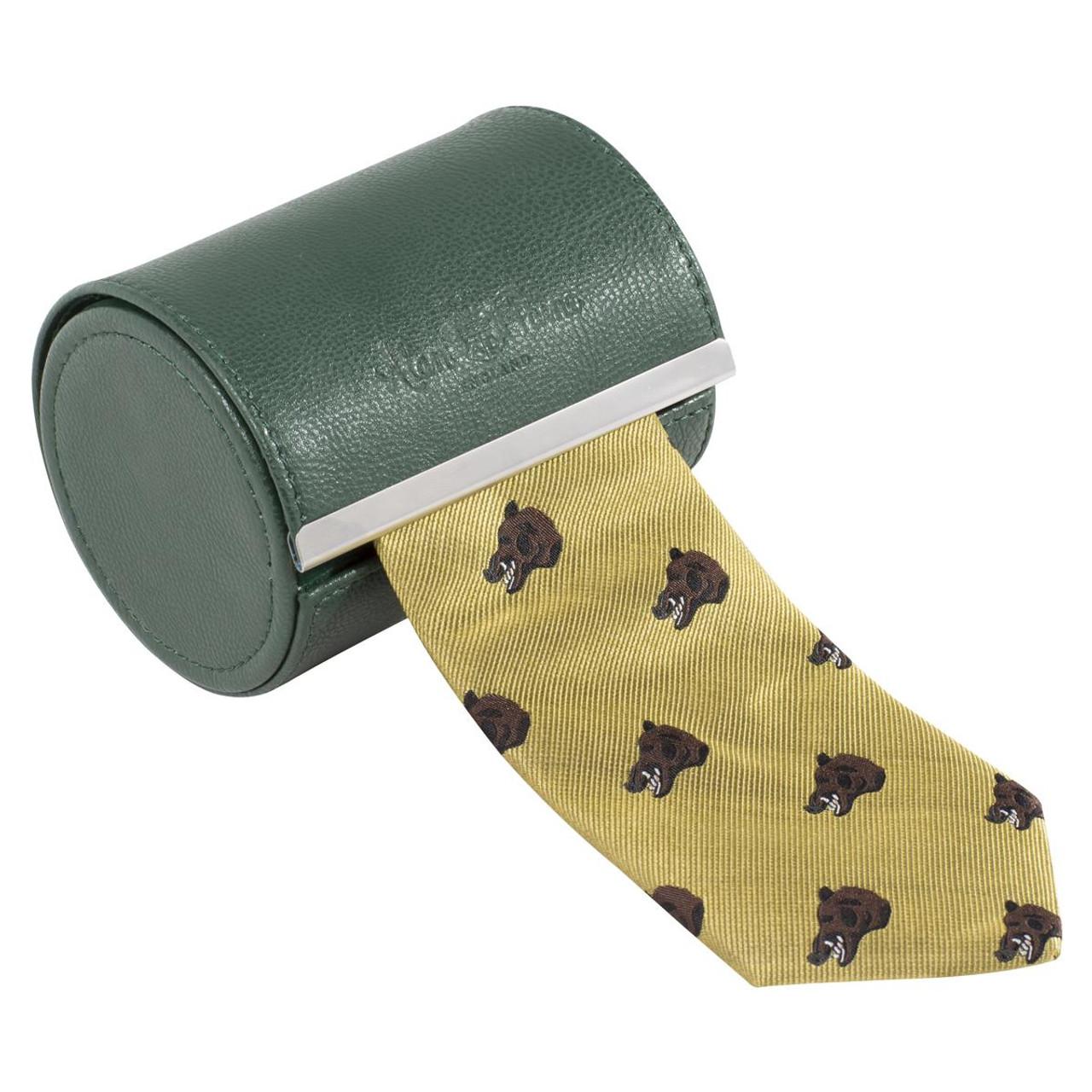 Wild Boar Gold Alan Paine Ripon Silk Tie