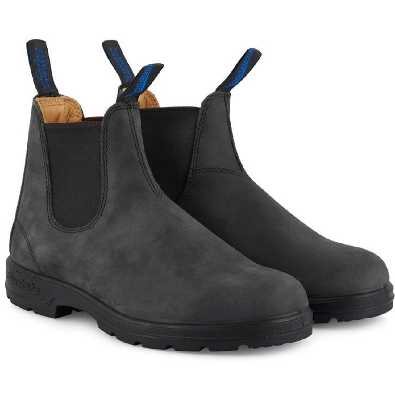 Rustic Black Blundstone Chelsea Boots