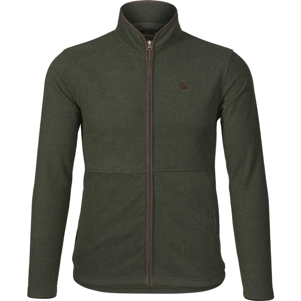 Classic Green Seeland Mens Woodcock Fleece Jacket