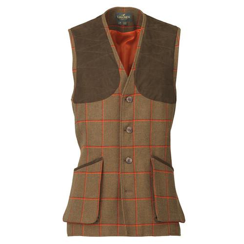 Clyde Tweed Laksen Leith Shooting Vest