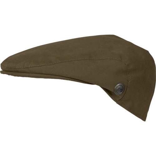 Warm Olive Harkila Mens Retrieve Flat Cap