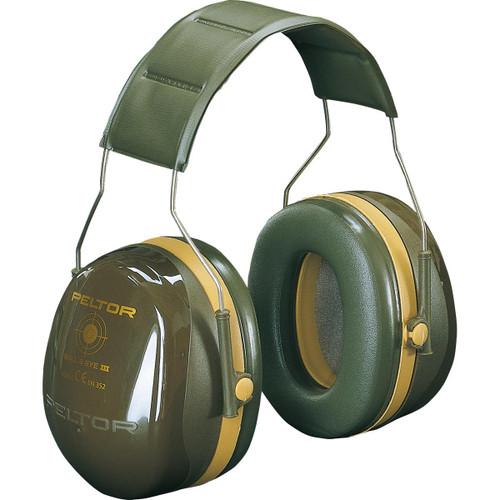 Green Peltor Bullseye III Hearing Protection