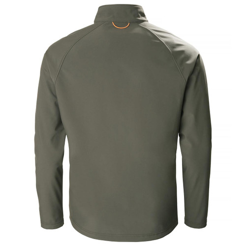Forest Green Musto Mens Keeper Softshell Jacket Back