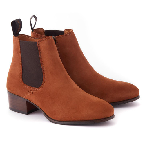 Camel Dubarry Womens Bray Chelsea Boots