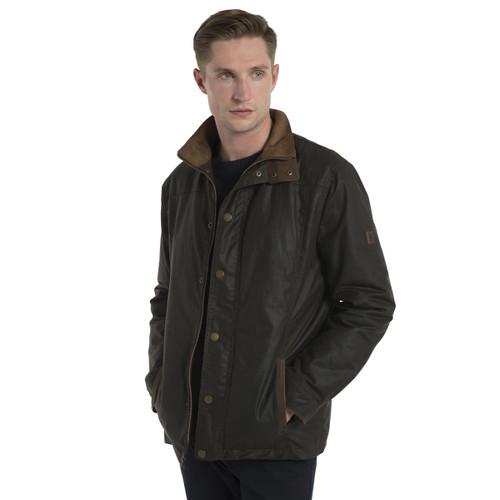 Dubarry Mens Carrickfergus Waxed Jacket