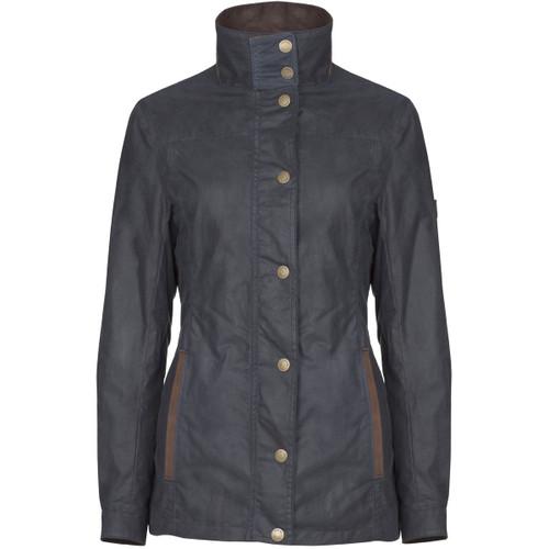 Navy Dubarry Womens Mountrath Wax Jacket