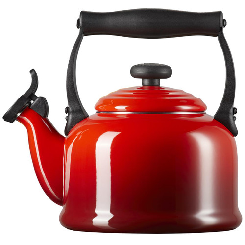 Cerise Le Creuset Traditional Fixed Whistle Kettle