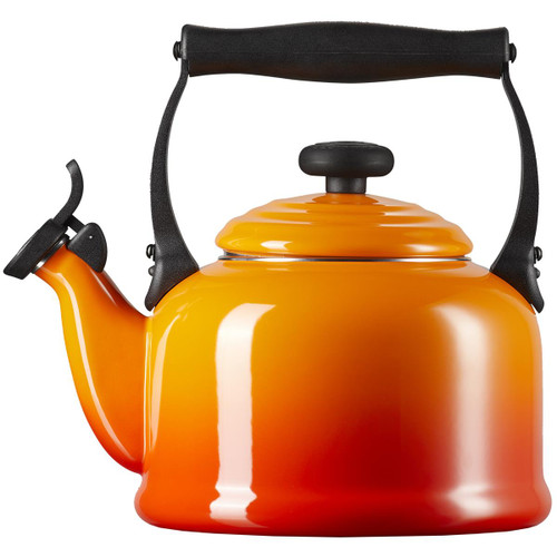 Volcanic Le Creuset Traditional Fixed Whistle Kettle