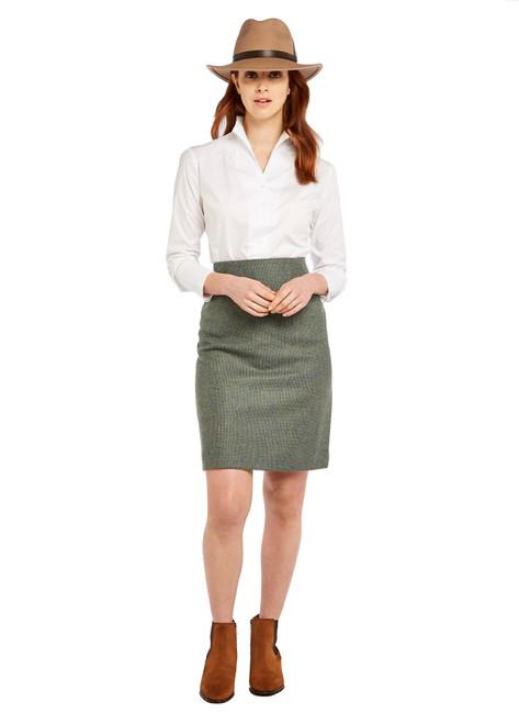 Optic White Dubarry Womens Snowdrop Shirt Lifestyle