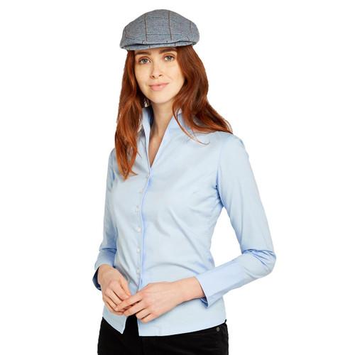 Pale Blue Dubarry Womens Snowdrop Shirt Lifestyle