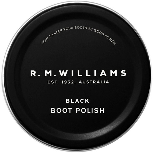 Black R.M. Williams Stockmans Boot Polish