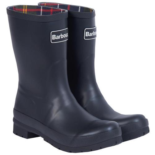 Black Barbour Womens Banbury Wellington Boots