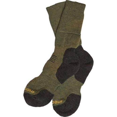 Olive Mix Barbour Mens Cragg Boot Socks