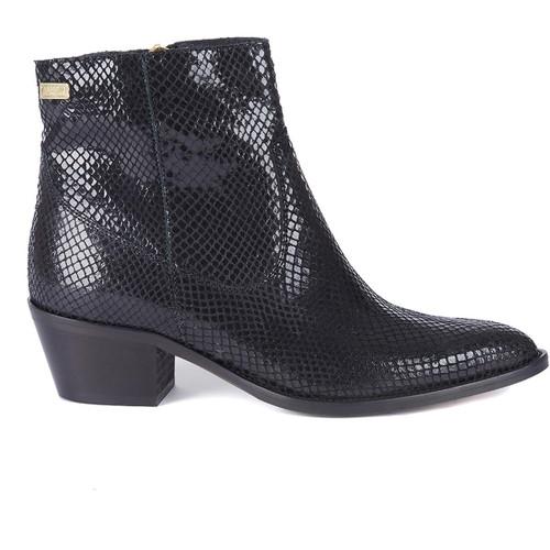Black Snake Barbour International Womens Isabel Boot Side