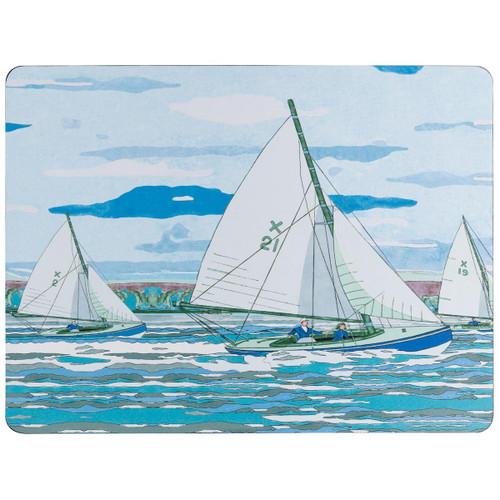Denby Sailing Set Of 6 Placemats