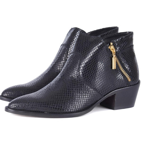 Black Snake Barbour International Womens Alexis Boots