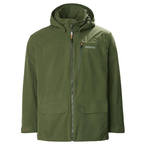 Dark Moss II Musto Mens HTX Keepers Jacket