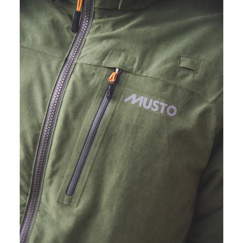 Dark Moss II Musto Mens HTX Keepers Jacket Chest