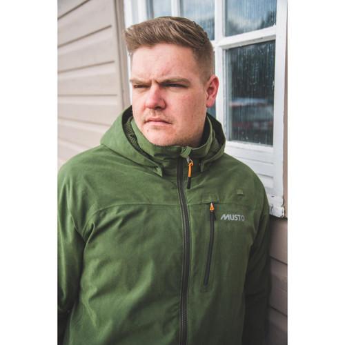 Dark Moss II Musto Mens HTX Keepers Jacket Lifestyle