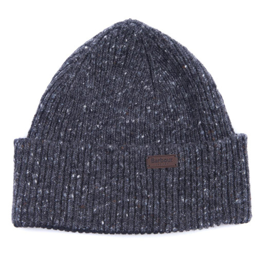 Charcoal Barbour Mens Lowerfell Beanie