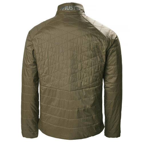 Rifle Green Muso HTX Quilted Jacket Back