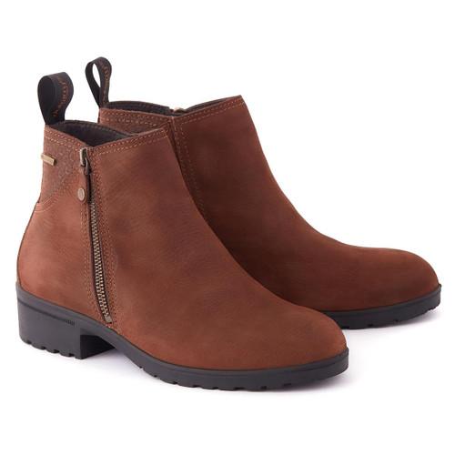 Walnut Dubarry Womens Carlow Boots