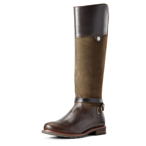 Willow Dark Olive Ariat Womens Carden H2O Boots