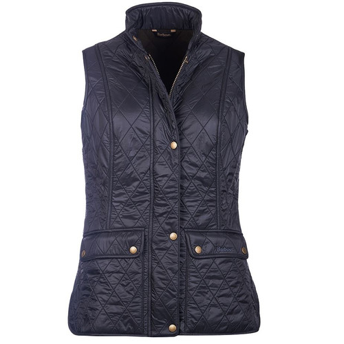 Navy Barbour Womens Wray Gilet