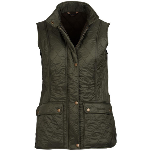Olive Barbour Womens Wray Gilet