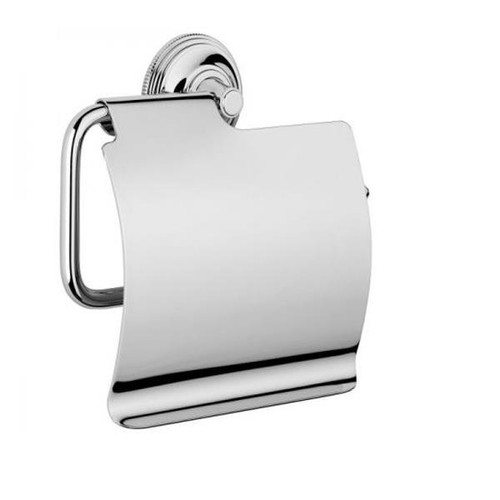 Chrome Plated Samuel Heath Style Moderne Wall Mounted Paper Holder N6637-C