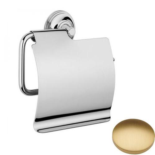 Brushed Gold Matt Samuel Heath Style Moderne Wall Mounted Paper Holder N6637-C