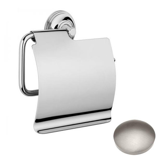 Stainless Steel Finish Samuel Heath Style Moderne Wall Mounted Paper Holder N6637-C