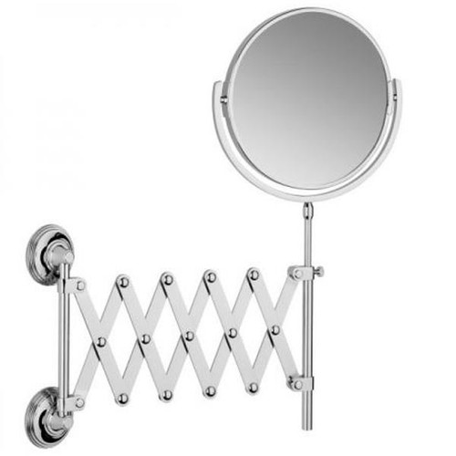 Chrome Plated Samuel Heath Style Moderne Extending Mirror L6708