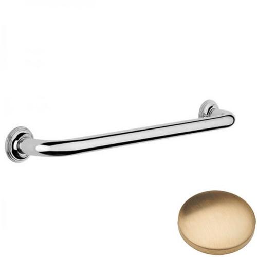 Brushed Gold Unlacquered Samuel Heath Style Moderne Grab Rail N6760
