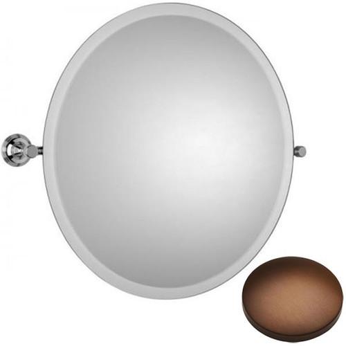 Country Bronze Samuel Heath Style Moderne Round Tilting Mirror L6745
