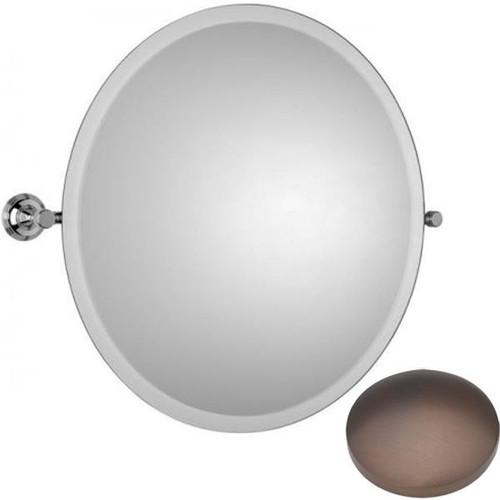 City Bronze Samuel Heath Style Moderne Round Tilting Mirror L6745