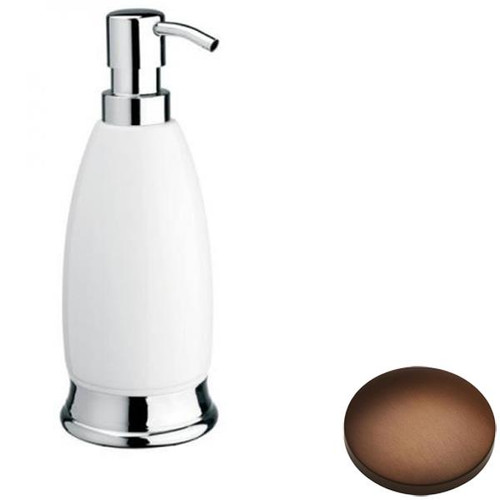 Country Bronze Samuel Heath Fairfield Freestanding Liquid Soap Dispenser N9566