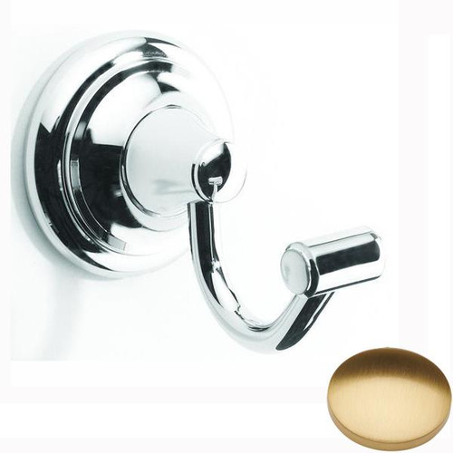 Brushed Gold Gloss Samuel Heath Fairfield Robe Hook N9531