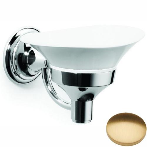 Brushed Gold Gloss Samuel Heath Fairfield Soap Dish N9534