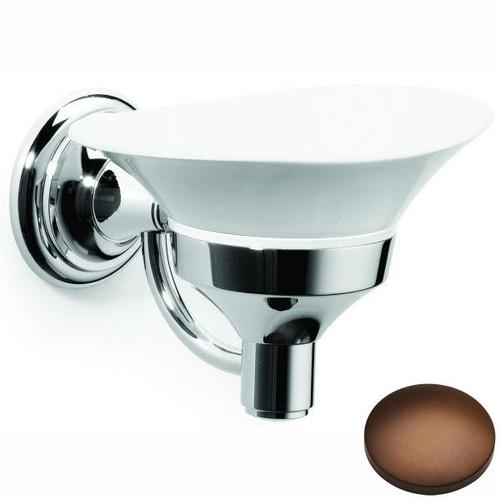 Country Bronze Samuel Heath Fairfield Soap Dish N9534