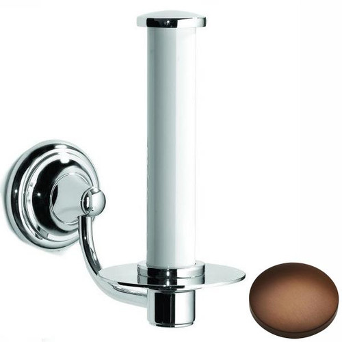 Country Bronze Samuel Heath Fairfield Spare Toilet Roll Holder N9541