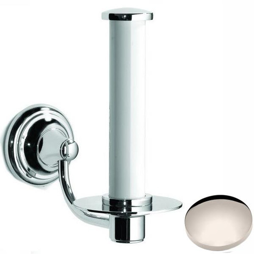 Polished Nickel Samuel Heath Fairfield Spare Toilet Roll Holder N9541