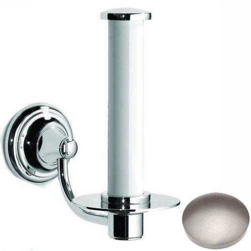 Stainless Steel Finish Samuel Heath Fairfield Spare Toilet Roll Holder N9541