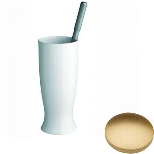 Brushed Gold Matt Samuel Heath Fairfield Toilet Brush Set N9549