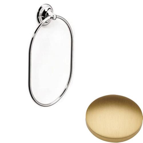 Brushed Gold Matt Samuel Heath Fairfield Towel Ring N9538