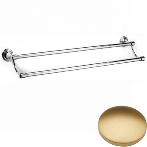 Brushed Gold Matt Samuel Heath Fairfield Double Towel Rail N9552