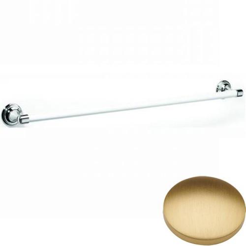 Brushed Gold Matt Samuel Heath Fairfield Single Ceramic Towel Rail N9561