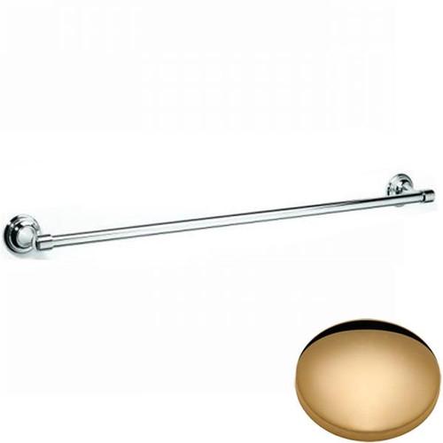 Non-Lacquered Brass Samuel Heath Fairfield Single Towel Rail N9551